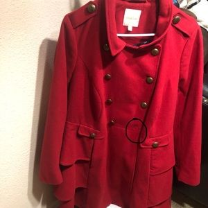 ModCloth Tiered Coat